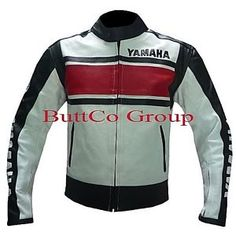 blanco yamaha 5241 motociclista motocicleta moto ce blindado abrigo chaqueta de cuero - Categoria: Avisos Clasificados Gratis  Estado del Producto: Nuevo con etiquetasYamaha 5241 WHITE Leather Cowhide Motorcycle Biker Jacket13mm thickness and drum dyed LeatherCustom made with pictures are of exact jacket as shown Jackets are made with high quality Cowhide A GRADE Leather Jackets are made with full safety standard for bikers, high quality cowhide 13 mm thickness and is drum dyed leather The…