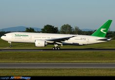 Turkmenistan Airlines Boeing 777-22K/LR