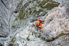 The Dolomites Via Ferrata Tridentina