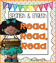 """This packet is called """"Read, Read, Read"""" because there are many different ways that your students will be reading the 8 sentences. The activities are in Spanish and English with plenty of visual supports.  (paid)"""