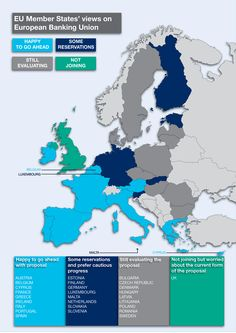 EU member states' views on European Banking Union #infographic