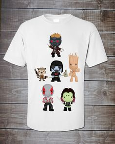 Guardian Gang Star Lord Adult Shirt