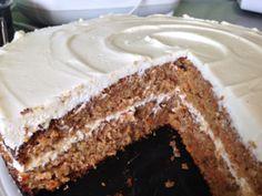 Mrkvový dort Cooking Recipes, Healthy Recipes, Sweet Cakes, Sweet Desserts, Carrot Cake, Cake Art, Junk Food, Food Art, Vanilla Cake