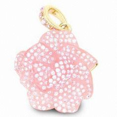 Promotional Flower Jewelry USB Flash Drive with 10 Years Data Retention and CE/RoHS Marks