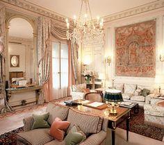 The Vendome Suite at the Ritz Paris
