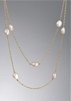 David Yurman gold & pearls