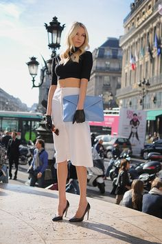 Chic too chic. A little edgy...