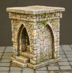 Styrofoam Crafts, Toy Castle, Hirst Arts, Warhammer Paint, Warhammer Terrain, Doll House Crafts, Dungeons And Dragons Homebrew, Christmas Nativity Scene, Wargaming Terrain