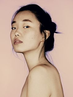 #1 Sun Young Hwang With her beautiful freckles.. #mrelbank
