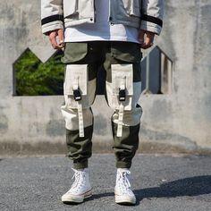 99 Adorable Style Guide Mens Fashion Ideas This Summer Cargo Pants Men, Jogger Pants, Joggers, Pantalon Cargo, Outfits Hombre, Cyberpunk Fashion, Inspiration Mode, Looks Style, Denim Fashion