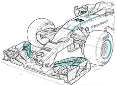 Mercedes W05 Hybrid F1 World Champion 2015
