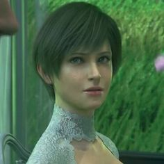 Prof. Rebecca Chambers former S.T.A.R.S from Resident Evil Vendetta.