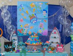 "Under Water Buble Guppies / Birthday ""Under Water Bubble Guppies"" 