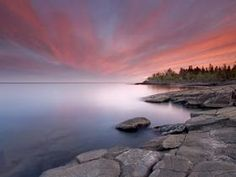 Stoney Point at Sunset, Lake Superior, Duluth, Minnesota - Professional Photos