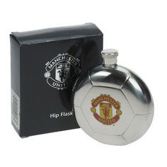 £29.99 - Engraved Manchester United Hip Flask