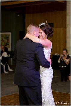 Hotel Kirkwood fall wedding, first dance