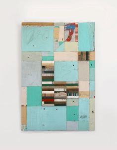 wood collage by richard pearse, looking forward to making something like this for a big blank spot on a livingroom wall