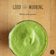 Blend Some Greens.  A fabulous start can support your sleep routine as well.