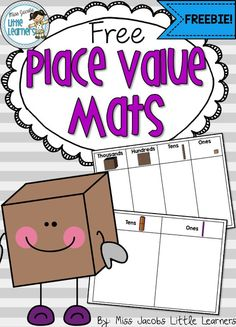 Little Learners: Place Value: Number Expanders and a FREEBIE!