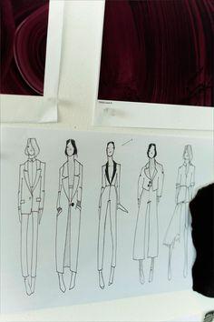 La mujer de invierno Fashion Sketchbook, Fashion Sketches, Dressmaking, Madrid, Tote Bag, Lifestyle, Detail, Inspiration, Design