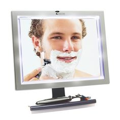 This is the last fog free mirror you will ever have to buy. This shatterproof mirror is made of high quality acrylic making it impact resistant, lighter and safer, while providing a brighter and sharper image.