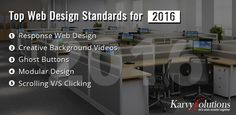 Top Web Design Standards for 2016