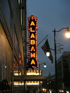 Taylor Court Reporting KY heads to Birmingham this week for depositions! The Alabama Theater. Birmingham, Alabama.