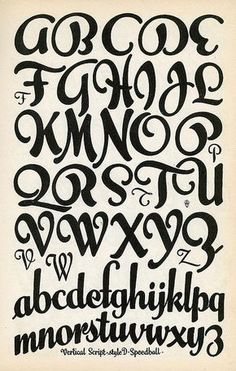 Tipografías, Fuentes / Fonts Letters = Love alphabet