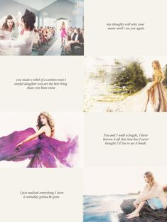 Enchanted, Mine, Haunted, and Never Grow Up- Taylor Swift