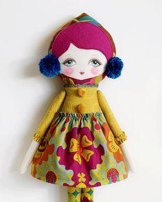 Matilda PDF Pattern Cloth Doll by LolliDolls on Etsy, $15.00