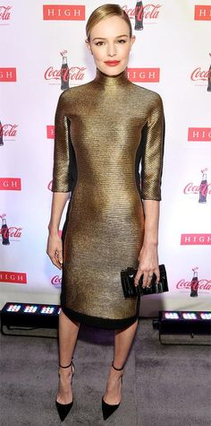 Look of the Day - February 27, 2015 - Kate Bosworth in Angel Sanchez from #InStyle