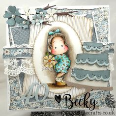 Tilda With Big Poppy | By Becky - Swedish House Crafts