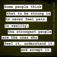 I am one of the strongest...