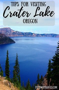 Seven Wonders of Oregon: Crater Lake National Park Make sure to visit the deepest lake in the United States- Crater Lake. A travel guide of things to do in and around Crater Lake. Oregon Vacation, Oregon Road Trip, Oregon Travel, Travel Usa, Oregon Hiking, Travel Portland, Lake Camping, Camping Places, Places To Travel