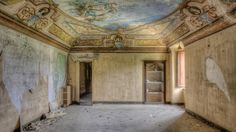 Photographer Provost Kenneth's passion for urban exploration takes him to numerous abandoned places in Europe.