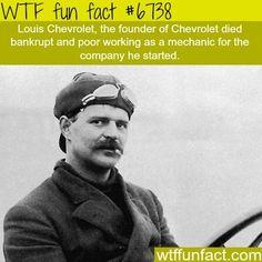 Louis Chevrolet - WTF fun fact http://ibeebz.com