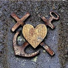Heart, Anchor & Cross