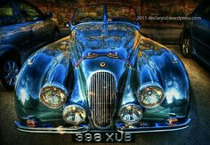 1951 automobiles autos British declanod car photography pictures photos pics cars collectable hdr collectible England green Jaguar racing sports cars UK vintage Jaguar Open Two Seater classic England British Sports Cars, Classic Sports Cars, Classic Cars, Jaguar Xk120, Jaguar Roadster, Vintage Cars, Antique Cars, Automobile, Sexy Cars