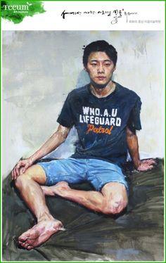 인체수채화/인체색채소묘_티움미술학원 인물화