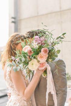 Ribbon Bouquet, Sister Wedding, Light Purple, Blush Pink, Wedding Invitations, Chiffon, Flower Girl Dresses, Ivory, Gift Wrapping