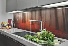 Splashback, Sink, Red, Home Decor, Sink Tops, Vessel Sink, Decoration Home, Room Decor, Vanity Basin