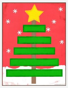 *FREE* download for size sequencing!!! Christmas Tree Math Back red