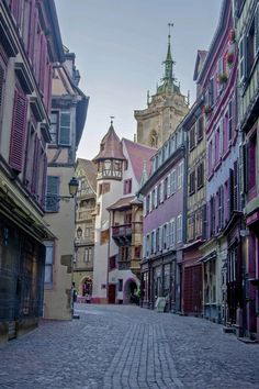 Colmar - France France is definitely one of the most geographically unique countries located in Europe. Its towns consist of��_