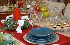 Mesa navideña, centro de mesa...Christmas table, centerpiece.