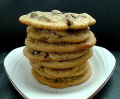 Chocolate Chip Cookies from scratch! The BEST recipe around. | Holiday Food Ideas