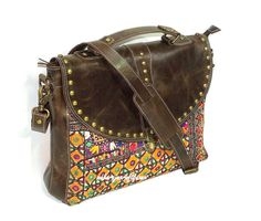 Hey, I found this really awesome Etsy listing at https://www.etsy.com/listing/216914286/vintage-banjara-leptop-bag-gypsy-leather