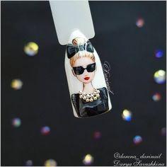 Ideas nails ideas acrylic art tutorials in 2020 Beautiful Nail Designs, Beautiful Nail Art, Gorgeous Nails, Fancy Nails, Bling Nails, Ongles Pin Up, Nail Drawing, Romantic Nails, Feather Nails