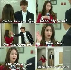 The cutest moment in Heirs <33333