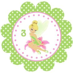 PRINTABLE Party Circles / Cupcake Toppers - Fairy Sweet Collection. $6.00, via Etsy.