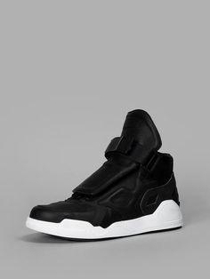 MARCELO BURLON Marcelo Burlon - County Of Milan Men'S Black Block Sneakers. #marceloburlon #shoes #sneakers
